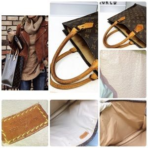 Louis Vuitton Bags - Sold Louis Vuitton Sac Plat Monogram Top tote bag